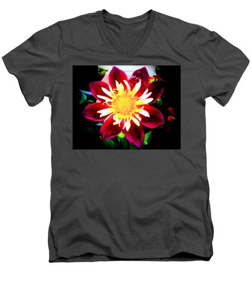 Personally Dahlia Men's V-Neck T-Shirt