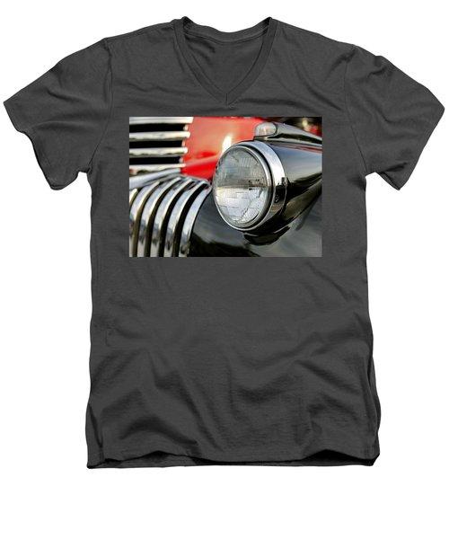 Pickup Chevrolet Headlight. Miami Men's V-Neck T-Shirt