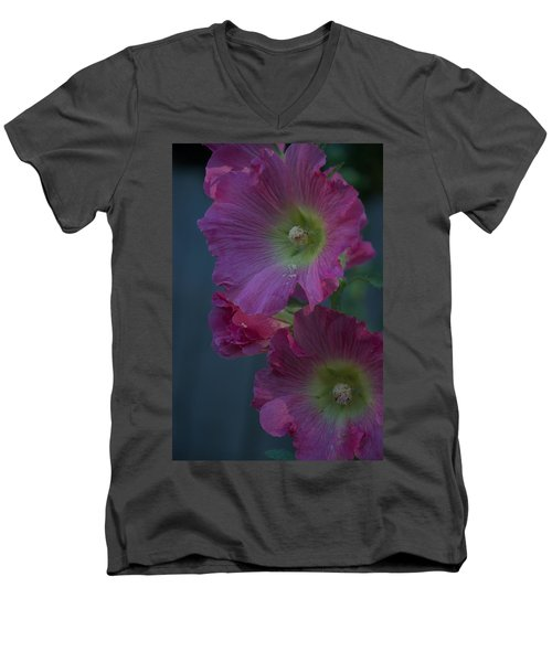 Men's V-Neck T-Shirt featuring the photograph Piquant by Joseph Yarbrough