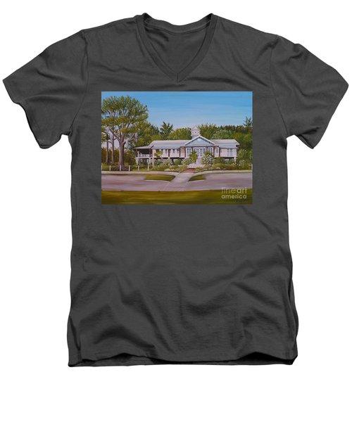 Pontchartrain Yacht Club Men's V-Neck T-Shirt