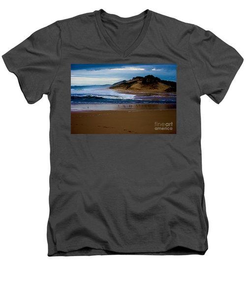Powlet River Men's V-Neck T-Shirt