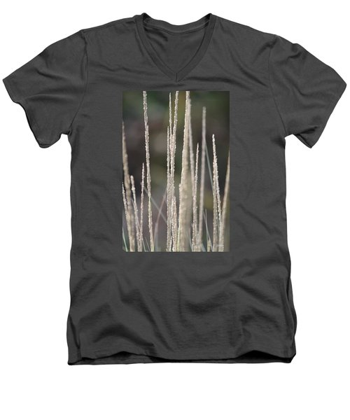 Men's V-Neck T-Shirt featuring the photograph Pure by Amy Gallagher