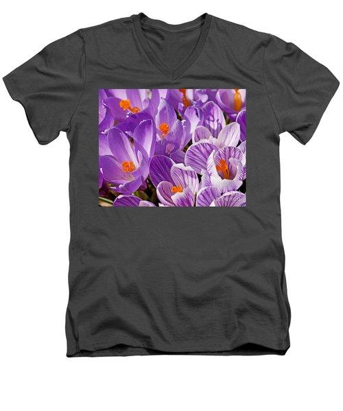 Purple Oh Purple Men's V-Neck T-Shirt