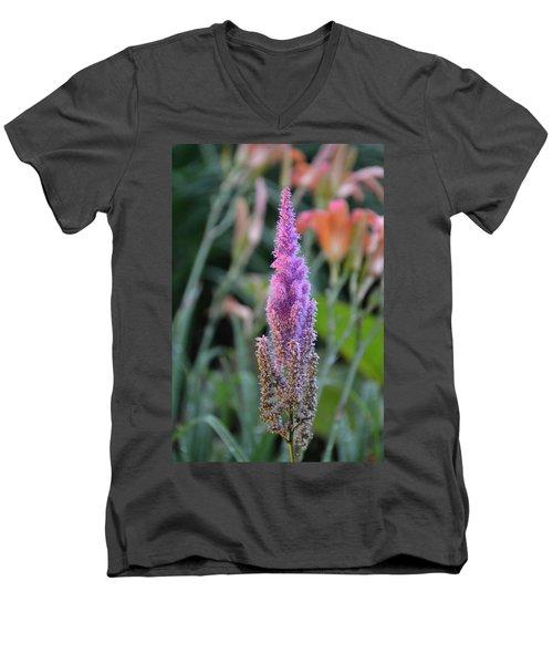 Purple Spear Men's V-Neck T-Shirt