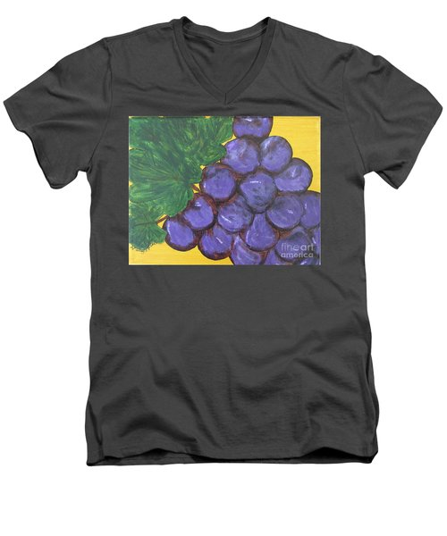Purplest Purple Men's V-Neck T-Shirt