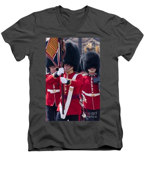Queens Guards Men's V-Neck T-Shirt