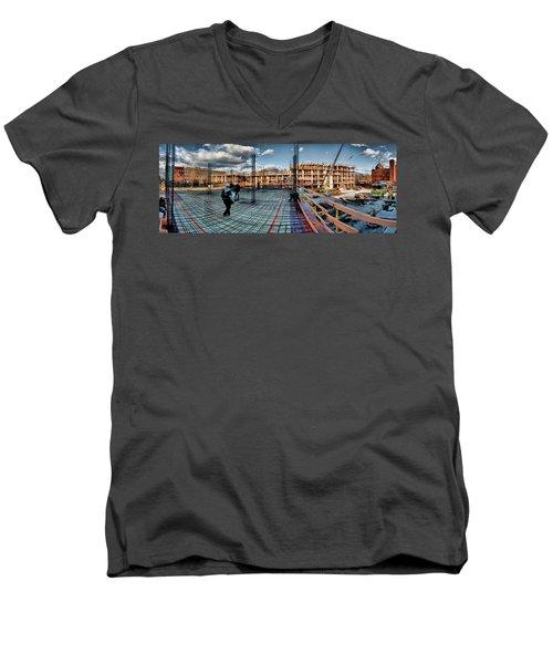 Raising Bedford Men's V-Neck T-Shirt