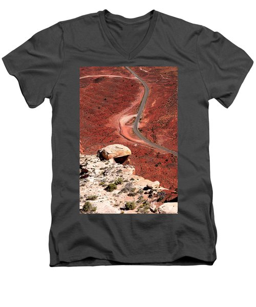 Red Rover Men's V-Neck T-Shirt