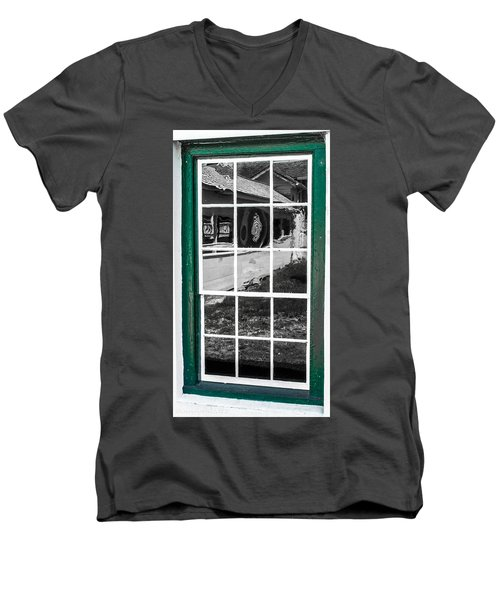 Reflections Of The Past Men's V-Neck T-Shirt
