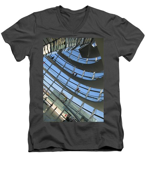 Reichstag Dome Men's V-Neck T-Shirt