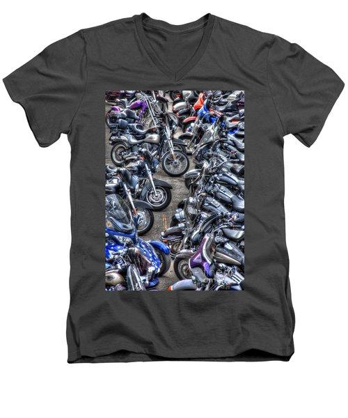 Ride And Shine Men's V-Neck T-Shirt