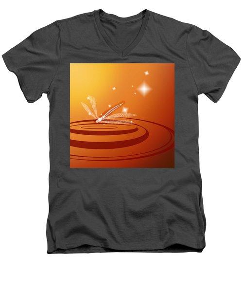 Ripple Men's V-Neck T-Shirt