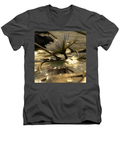 River Lily Men's V-Neck T-Shirt