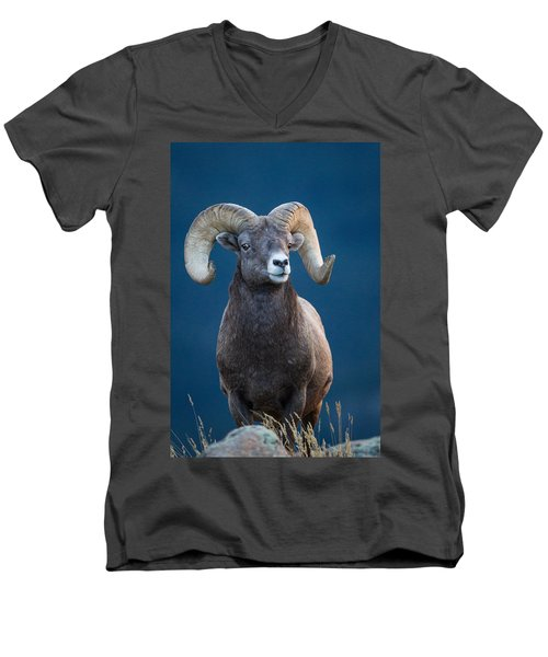 Rocky Mountain Big Horn Men's V-Neck T-Shirt