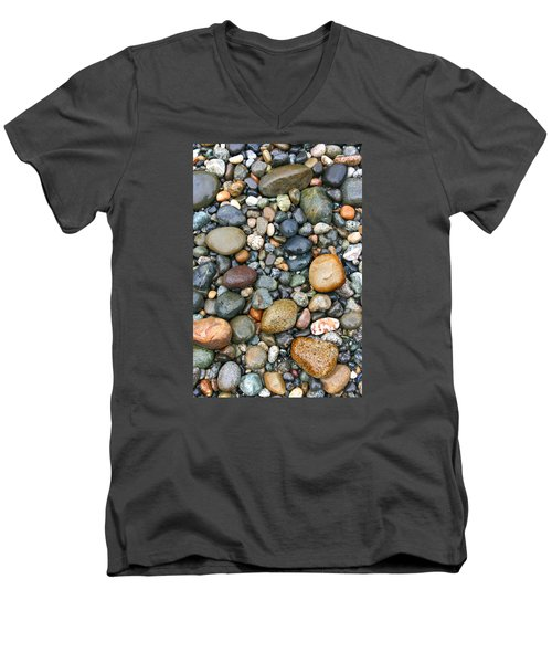 Rocky Shores Men's V-Neck T-Shirt