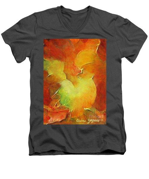 Rooster Men's V-Neck T-Shirt