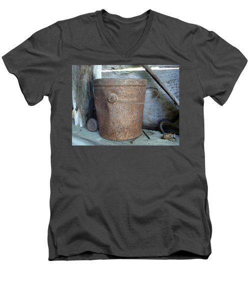 Rusty Bucket Men's V-Neck T-Shirt