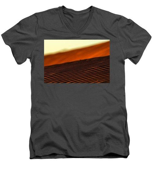 Sand Rows Men's V-Neck T-Shirt