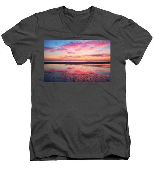 Sandz-a-bar Men's V-Neck T-Shirt