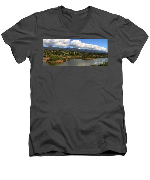 Santa Barbara Men's V-Neck T-Shirt