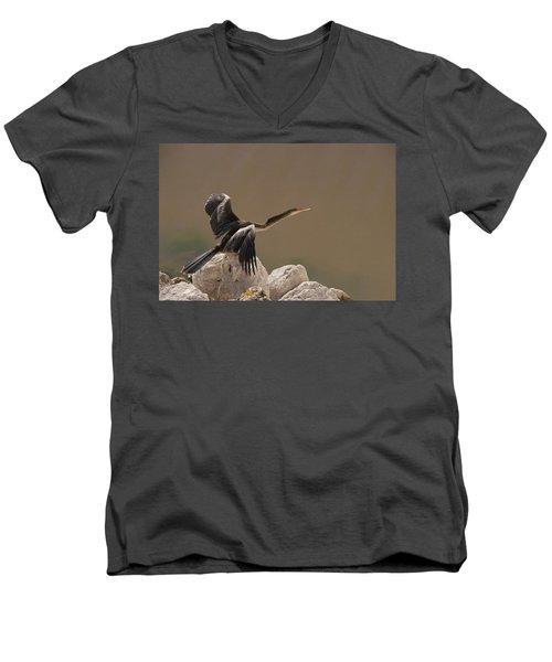 Seen Gone Men's V-Neck T-Shirt