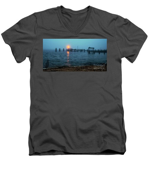Men's V-Neck T-Shirt featuring the photograph Shhh Listen by Clayton Bruster