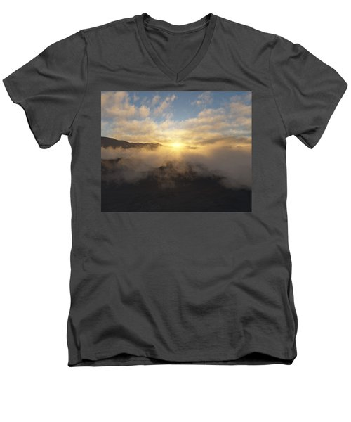 Sierra Sunrise Men's V-Neck T-Shirt