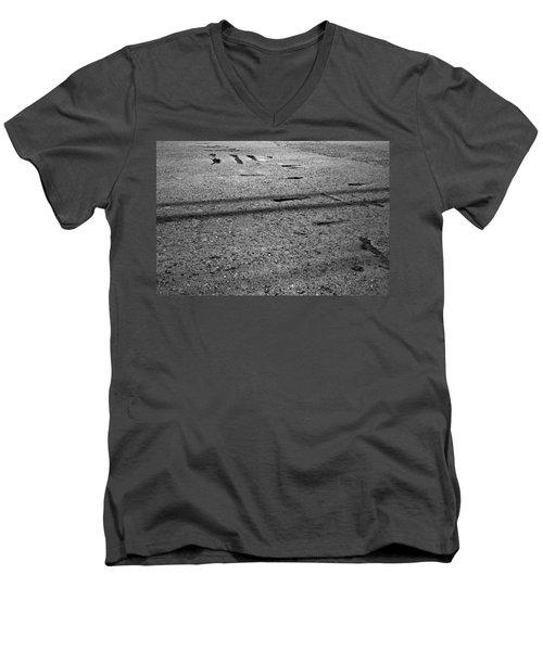 Signals 2008 1 Of 1 Men's V-Neck T-Shirt