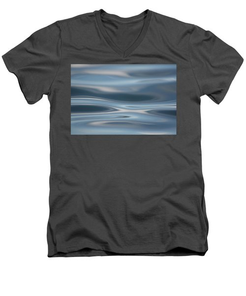 Men's V-Neck T-Shirt featuring the photograph Sky Waves by Cathie Douglas