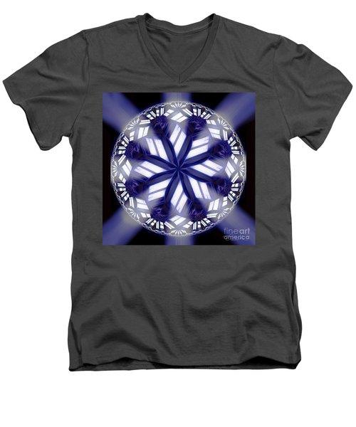 Sky Windows Men's V-Neck T-Shirt by Danuta Bennett
