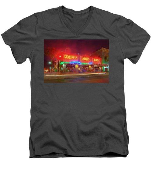 Sloppy Joes Men's V-Neck T-Shirt