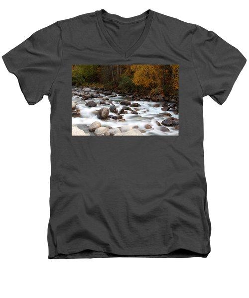 Smokey Water Men's V-Neck T-Shirt