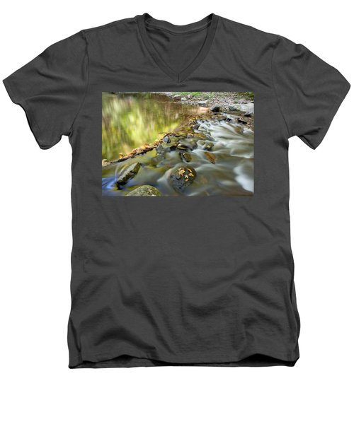 Smoky Mountain Streams Iv Men's V-Neck T-Shirt