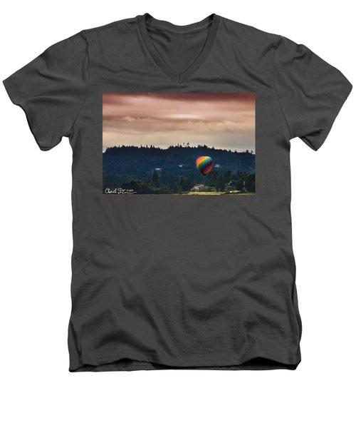 Snohomish Baloon Ride Men's V-Neck T-Shirt