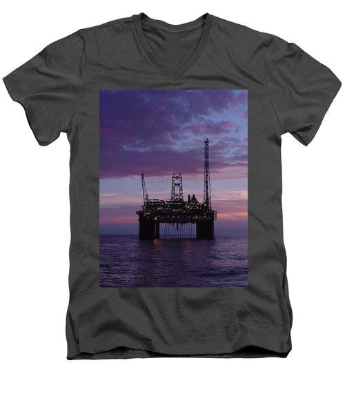 Snorre At Dusk Men's V-Neck T-Shirt