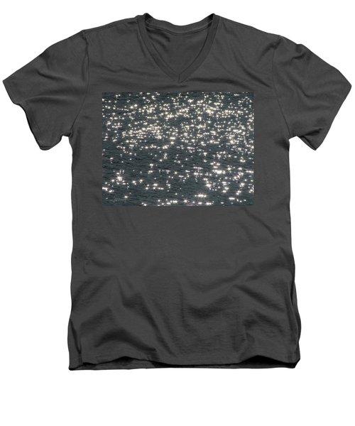 Shining Water Men's V-Neck T-Shirt by Maciek Froncisz
