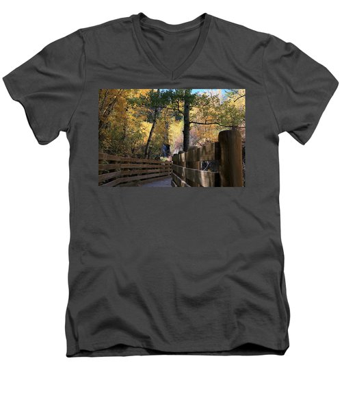 Spearfish Canyon Walkway Men's V-Neck T-Shirt