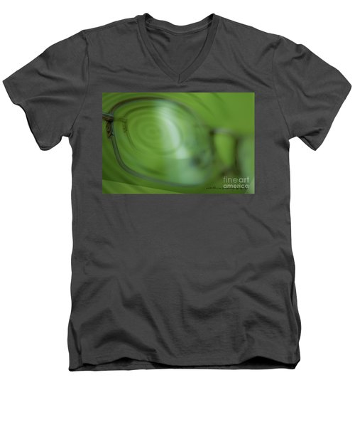 Men's V-Neck T-Shirt featuring the photograph Spinner Vision by Vicki Ferrari Photography