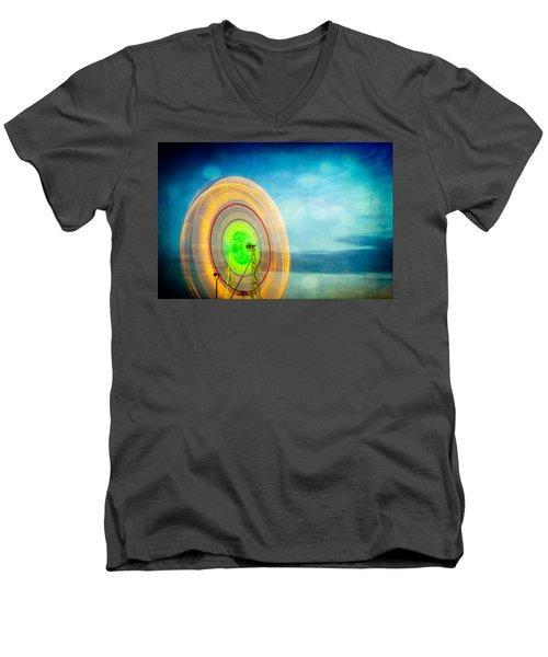 Spinning 2 Men's V-Neck T-Shirt