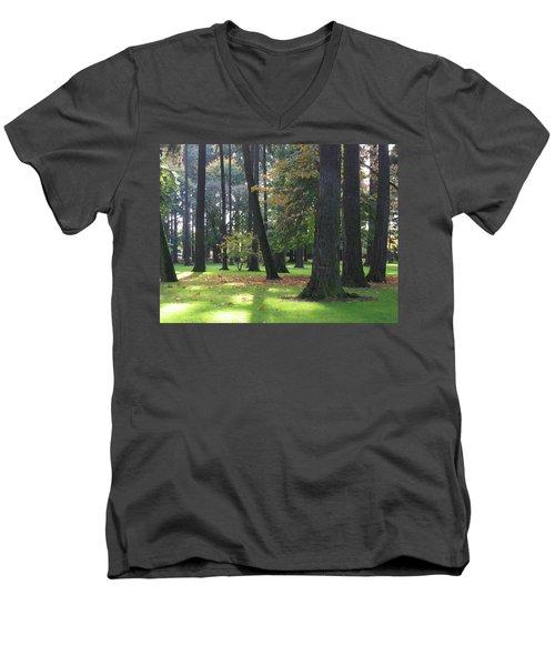 St. John's Trees Men's V-Neck T-Shirt