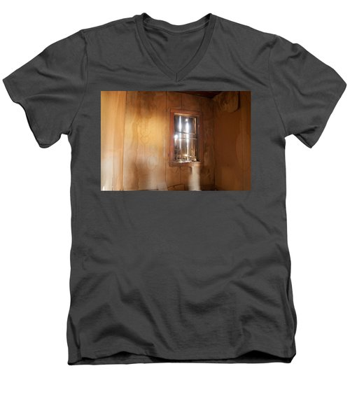 Men's V-Neck T-Shirt featuring the photograph Stains Of Time by Fran Riley