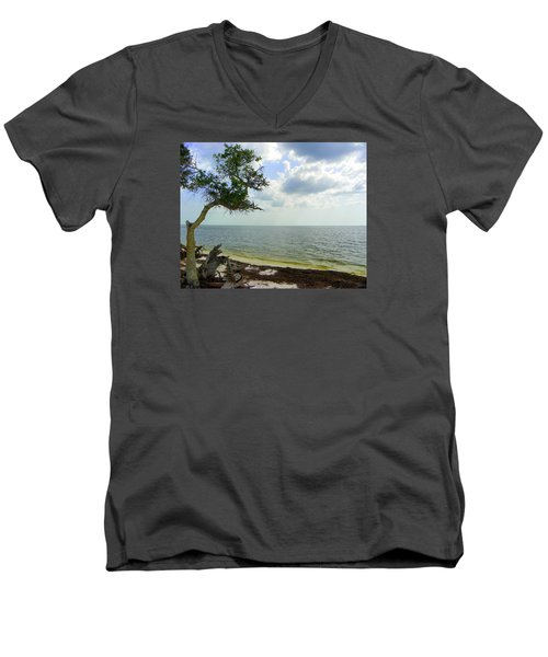 Standing Strong Men's V-Neck T-Shirt