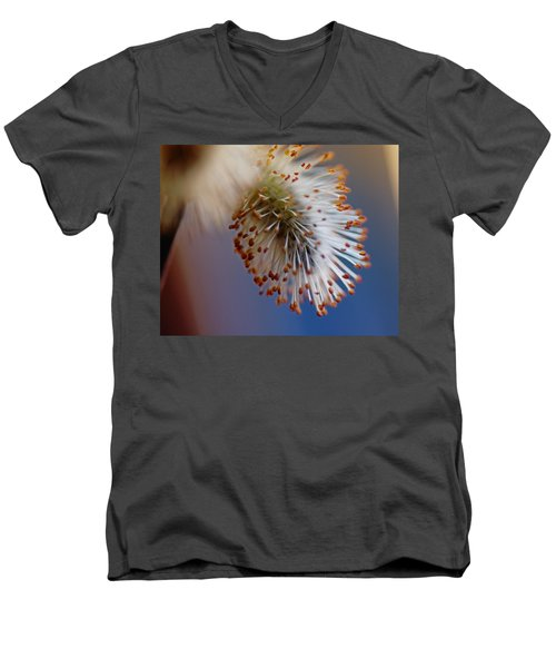 Starburst Men's V-Neck T-Shirt