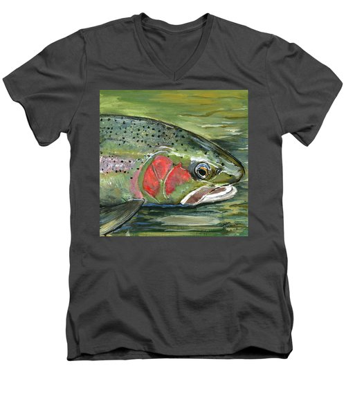 Steelhead  Men's V-Neck T-Shirt