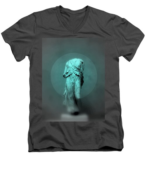 Still Life - Robed Figure Men's V-Neck T-Shirt