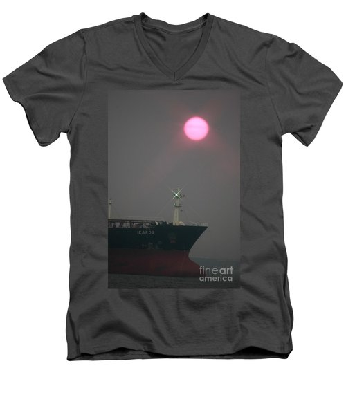 Straits Of Verrazano Men's V-Neck T-Shirt