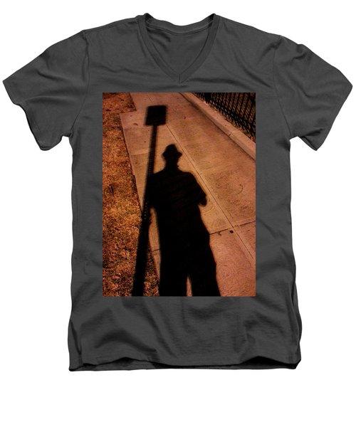 Street Shadows 008 Men's V-Neck T-Shirt