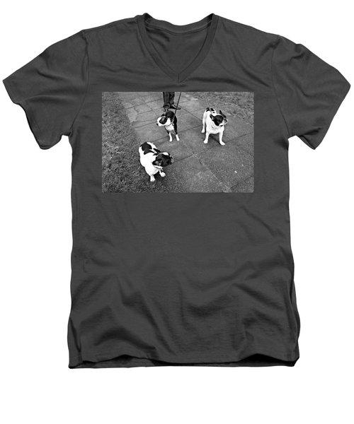 Stylish Men's V-Neck T-Shirt