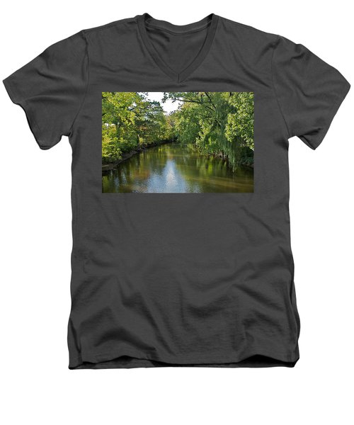 Men's V-Neck T-Shirt featuring the photograph Summer Light by Joseph Yarbrough