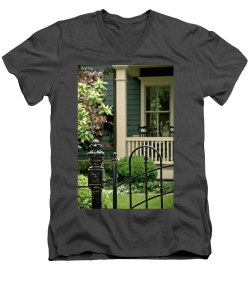 Sunday Afternoon In Doylestown Men's V-Neck T-Shirt